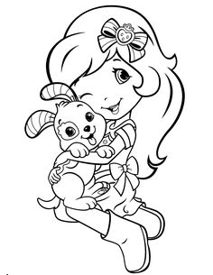 strawberry shortcake printables | Strawberry Shortcake Coloring Page 55