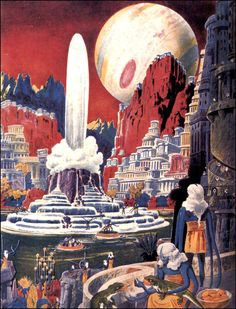 Frank R. Paul illustration, 1941