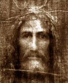 Face of Jesus based on Shroud of Turin