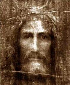 Face of Jesus based on Shroud of Turin Me conmueve este cuadro........me da FÉ y Amor la SÁBANA SANTA.