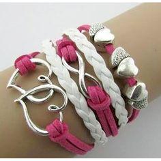 Double Heart Infinity Bracelet – Florence Scovel love, love, love!!!!