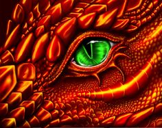 This could almost be Hope's dragon. <3  Firelight by ~Reptilia-7 on deviantART