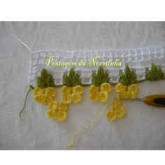 It is a website for handmade creations,with free patterns for croshet and knitting , in many techniques & designs. Crochet Borders, Crochet Stitches Patterns, Crochet Motif, Crochet Designs, Crochet Diy, Love Crochet, Crochet Flowers, Tutorial Crochet, Point Lace