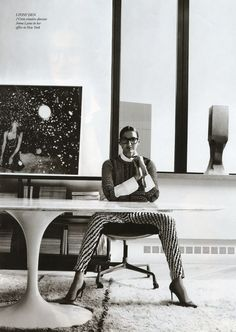 Jenna Lyons.  President and creative director of J. Crew.