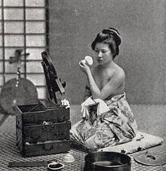 Japanese Geisha, Japanese Beauty, Vintage Japanese, Japanese Kimono, Geisha Japan, Japanese Pics, Japanese History, Japanese Culture, Photos Du