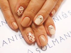 ♡ autumn nails | leopard nails ♡