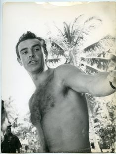 shirtless movie actors | Vintage 1960s James Bond Actor Sean Connery SHIRTLESS Movie Set