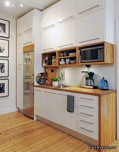 5526caad41a 28 ιδέες για μικρή κουζίνα φοιτητικού σπιτιού. - Homie.gr Λευκά Ντουλάπια,  Μικρές