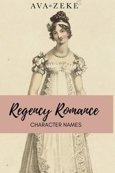 Looking for a character name for your Regency hero or heroine? Check out our curated list! Just click through to Ava to Zeke! Strong Girl Names, Strong Girls, Writing Memes, Writing Resources, Writing Tips, Vintage Baby Names, Unusual Names, Name List, Regency Era