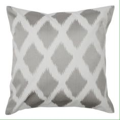 ISO Diamond Ikat Pillow I am looking for these pillows from zgallerie. Unfortunately they're sold out and don't make them anymore. So if anyone has any I would LOVE to buy them from you!  I'm looking for three of the silver ones. If you know someone that has any or anything like that, please send them my way! Thanks in advance!  Zgallerie Other