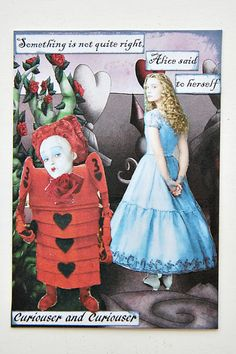 Lululiz in Lalaland: All Things Alice ATC Swap