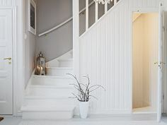 Surprising Cool Ideas: Old Attic Stairs attic conversion kids.Old Attic Stairs attic window interior. Attic Stairs, Basement Stairs, House Stairs, Cottage Stairs, Basement Bedrooms, Attic Renovation, Attic Remodel, White Stairs, Hidden Rooms