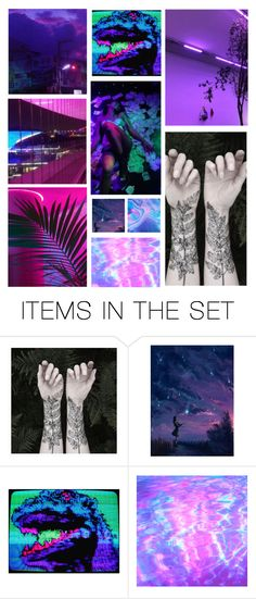 """""""In The Vegas Lights"""" by headphones-girl ❤ liked on Polyvore featuring art"""