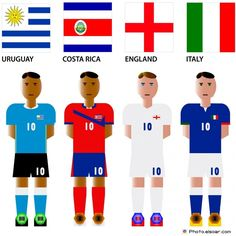 world cup teams flags