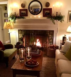 48 classic traditional living room decor ideas 19 ⋆ All About Home Decor Home Living Room, Living Room Designs, Cottage Living Rooms, Living Room Tables, Country Living Rooms, Cozy Living Room Warm, English Living Rooms, Primitive Living Room, Cottage Bedrooms
