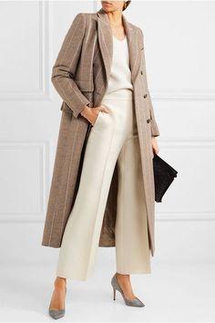 Max Mara | Pinstriped wool coat | NET-A-PORTER.COM