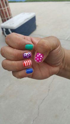 Easter nails! #shellac