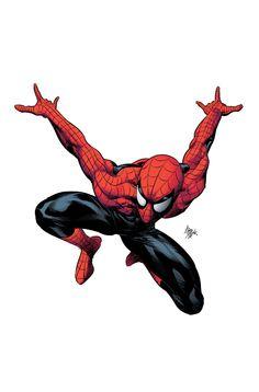 #Spiderman #Fan #Art. (Spider-Man) By: Mike Deodato. (MAJOR ÅWESOMENESS!!!™)