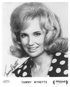 Tammy Wynette ;First Lady Of country music and the best.