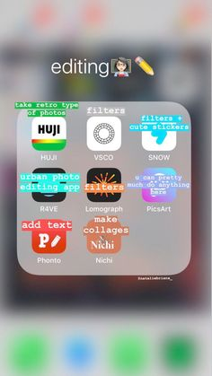 here are some great apps that I use to edit my pictures editing edi. here are some great apps that I use to edit my pictures editing editing apps Photography Editing Apps, Good Photo Editing Apps, Photo Editing Vsco, Photography Filters, Iphone Photography, Photography Courses, Photography Studios, Landscape Photography, Image Editing