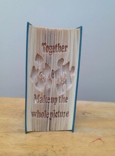 Together you & me... CUT and Fold Book by ZoesNovelCreations