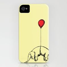 Red Elephant iPhone Case. This will be mine