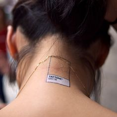Tattly tattoos! Leave it to @swissmiss to reinvent temporary tattoos with a design bent.