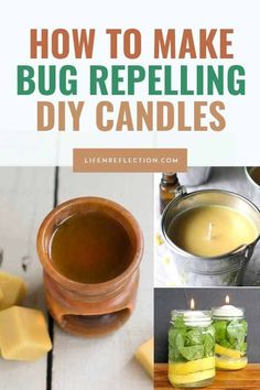 9 DIY Outdoor Candles to Keep Bugs Away Diy Candles Supplies, Outdoor Food, Outdoor Spaces, Outdoor Candles, Candle Labels, Citronella Candles, Homemade Candles, Mosquitoes, Cleaners Homemade