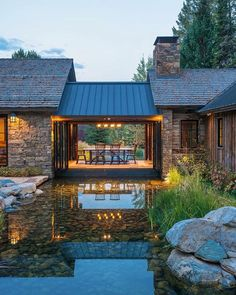 Fishcreek Woods, Wyoming | JLF Architects
