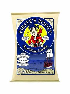 Pirate's Booty  Aged White Cheddar  4-Ounce Bags (Pack of 12): http://amzn.to/HOrRdh