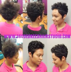 Astonishing Short Cut By Samantha Turner At 360 Degrees Hair Studio In Houston Hairstyle Inspiration Daily Dogsangcom