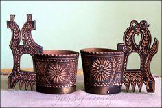 Liptov - Slovakia, wood - Maple, brass band. Hand made by MATEJ HALAHIJA - MH - my Grandfather Brass Band, Wood Carving, Cuff Bracelets, Folk, Handmade, Accessories, Jewelry, Wood Carvings, Hand Made