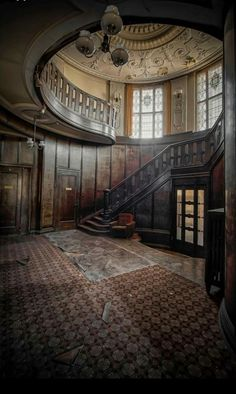 This is so amazing! Someone needs to renovate ASAP!