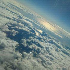 Sobre el cielo de Pto Montt.