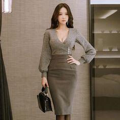 8979563b6d929 63 Best Women's Suits images in 2019 | Black, Black lace dresses ...