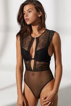 bddb1f4a32 517 best Bodysuits images in 2019 | Bodysuits, Underwear, Lace body