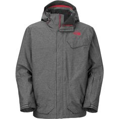 65c04d578bd9 The North Face Marsellus Triclimate Jacket - Mens Asphalt Grey Heather