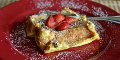Overnight French toast....wanna try next time I see French bread marked down!