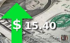 La divisa estadounidense este viernes subió nuevecentavos, vendiéndose al finalizar la jorandaa $ 15,40 en casas de cambio y bancos de la ciudad. El dólar Banco Nación también cerró en alza cotizando a $ 15,30. En tanto el Euro subió cuatrocentavos, cerrando a $ 18,10 Parala más información sobre lacotización actualizada del dolary otra divisas…