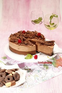 Cheesecake de Chocolate, TeleCulinária N.º 1741