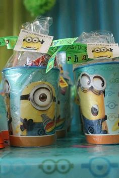 Despicable Me Minion Party Favors (Tiered) w/ GIN Bonus!!