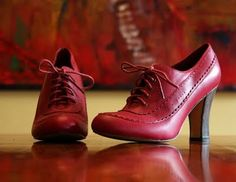 Red Heeled Brogues I dont know what i would wear these with but they are awesome!