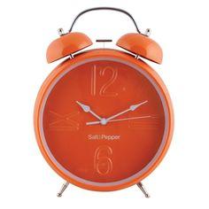 S & P Orange Clock