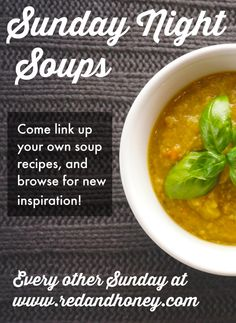 Sunday Night Soups, Vol. 3 - Red and Honey