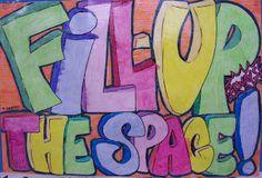 The Lost Sock : Artlab Wall of Wisdom  An Art teachers wall posters