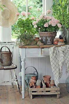Potting room