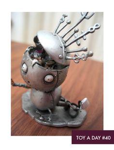 Robot Boy - Tim Burton's Tragic Toys