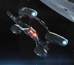 The Newton-type was a type of United Federation of Planets starship used by Starfleet in the mid-23rd century. A typical Newton-type starship had two active outboard nacelles placed above the centerline and two secondary hulls below. The secondary hulls were connected by swept pylons that connected to the back of the primary hull where the impulse drive was located. The upper nacelles connected to the primary hull at the rear port and starboard quadrants and were connected together with a...