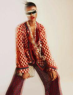 Power Publication: Vogue Spain February 2018 Model: Mayowa Nicholas Photographer: Txema Yeste Fashion Editor: Juan Cebrián Hair: Ali Pirzadeh Make Up: Jurgen Braun PART I