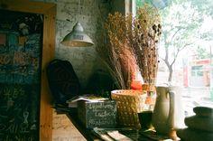 a coffee shop with ceramic things named Bazaar on Vo Thi Sau street, district 3, Ho Chi Minh city. (minolta x700, min 28-70, fuji proplus 200). #filmphoto #vietnam